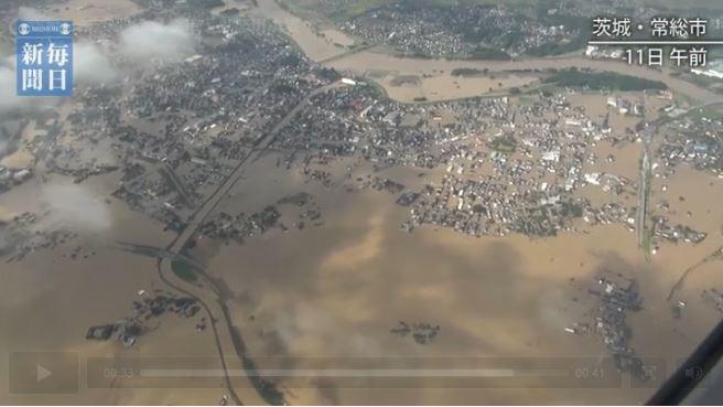 日本東北地區大水災