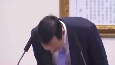 Photo of 朱立倫兩度鞠躬道歉 洪 : 是非不容混淆