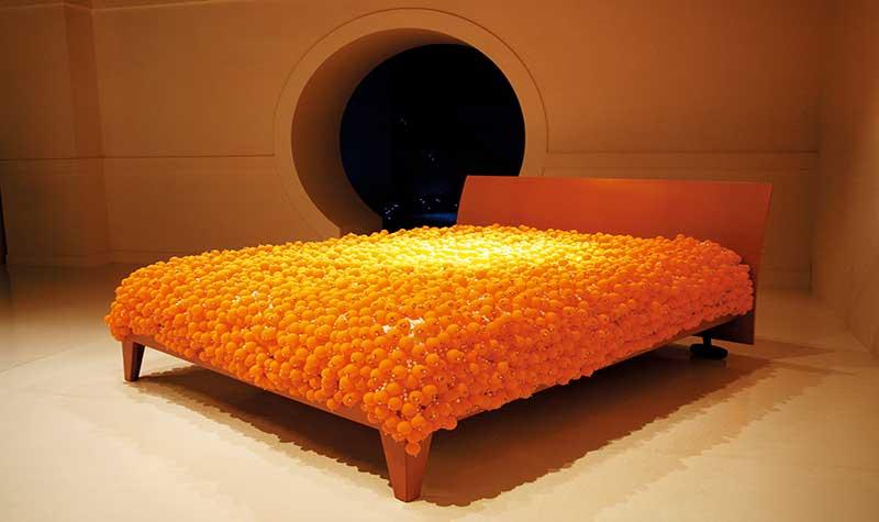 藝術家陳慧嶠,作品:2006知覺的泡泡─在結束中開始。