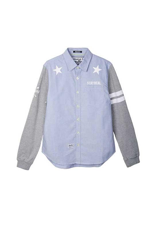 21度拼接襯衫 價格1,980元