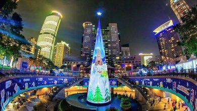 Photo of 全球唯一!新北3D立體光雕投影耶誕樹11/20點燈