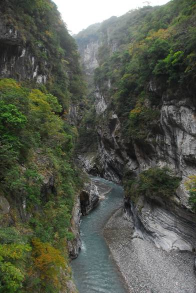 太魯閣峽谷。