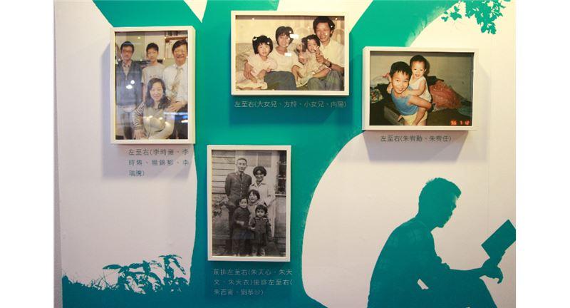 國際書展中的臺灣出版主題館,展示臺灣文壇中創作家庭的各式樣貌。