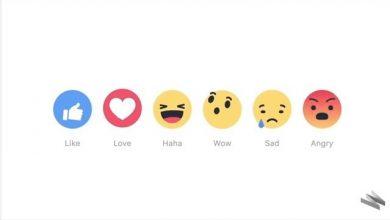 Photo of 臉書不再只能按讚 新增5款表情符號