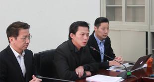 對於廢死的爭議,主席黃國昌表示,時代力量選前推動的證件中,並沒有推動廢死政策。  圖片來源:時代力量提供