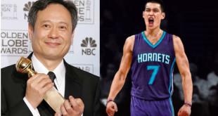 李安(左)、林書豪挺身而出,為亞洲人發聲。(合成照,翻攝網路、林書豪推特)