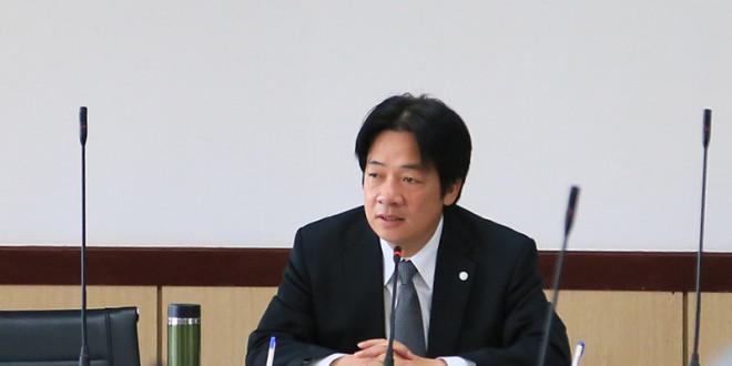 台南市長賴清德1日宣布台南開放同性伴侶註記,更新增顯性註記讓同性伴侶關係可以出現在戶籍謄本上。日前卻因系統技術性因素,有一對同性伴侶無法採顯性登記。  圖片來源:台南市政府提供