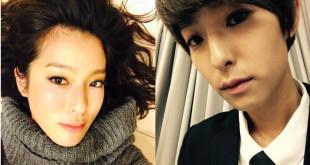 賴雅妍在偶像劇《愛上哥們》中短髮造型人人讚,但她其實超想留長髮。(合成照,翻攝賴雅妍微博)