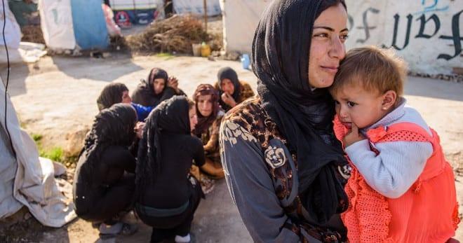 自2011年爆發的敘利亞內戰,已造成超過400萬人逃離家園、成為難民,過著一無所有、顛沛流離的生活02(圖片來源:台灣世界展望會)