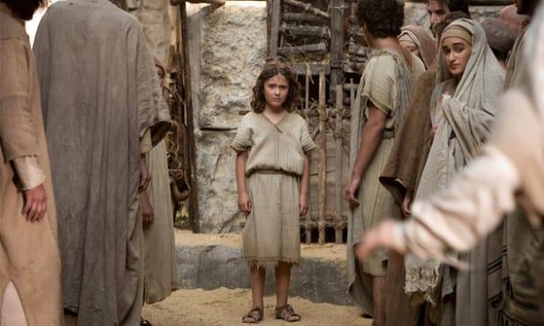 七歲那年,小小耶穌發現自己的與眾不同與特別的力量,對自己的身分感到困惑和掙扎。(圖片來源:翻攝網路)