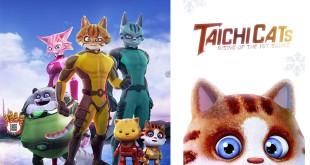 「繪心動影-Animate 2D到3D」特展,特別邀請3D立體動畫電影「貓影特工」展出。(圖片來源:貓咪特工粉絲專頁)