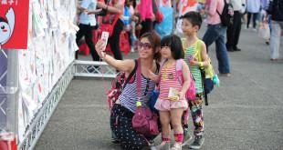 兒盟在4/2兒童節於國父紀念館舉辦親子園遊會,邀請爸爸媽媽帶小朋友前來同樂。(圖片來源:兒福聯盟)