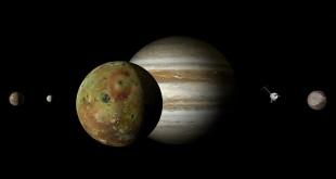 8日木星衝利用天文望遠鏡可以看見木星表面的明暗條紋,也有機會看見木星的四大衛星。 〈圖片來源:翻攝pixabay DasWortgewand〉