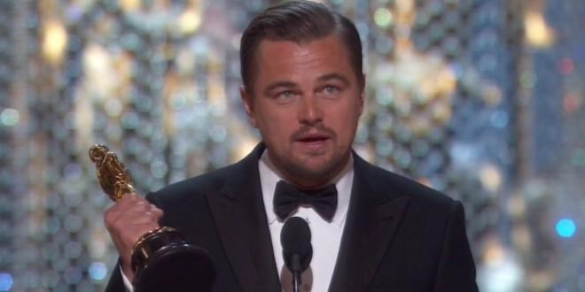 曾4度提名奧斯卡最佳男主角皆鍛羽而歸,李奧納多終於奪下了期盼已久的影帝殊榮。(翻攝自YouTube)