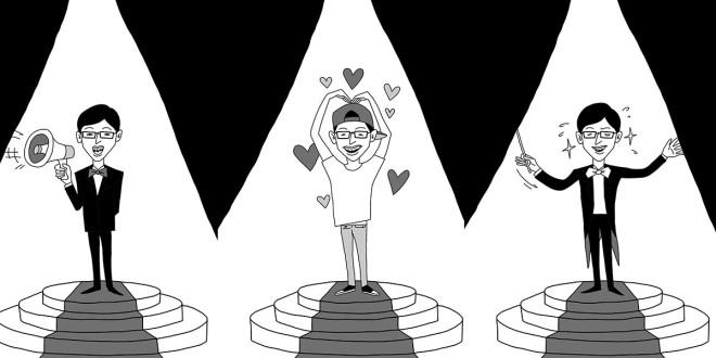 榮登韓國網站的熱門關鍵字的劉在錫,被網友票選為「最想跟隨的職場上司」。(圖片來源:皇冠出版社)