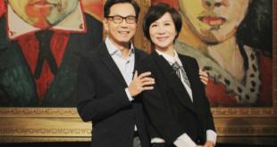 陳藹玲(右)與老公蔡明忠在《愛的萬物論》暢談婚姻點滴。(圖/翻攝自網路)