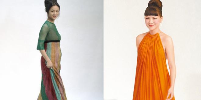 香港電影金像獎入圍最佳女主角的湯唯(左)和及最佳女配角的李心潔格外搶戲。(合成照,翻攝微博)