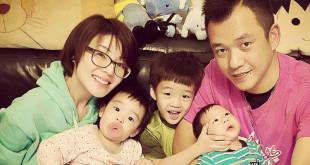 阿Ben與徐小可兩人結婚5年,一連生了3個小孩。(翻攝白吉勝&徐小可 Love 白宮這一家臉書)