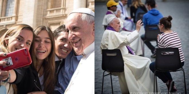 方濟各提醒年輕人不要只是隨波逐流。(圖片來源/Pope Francis 'sIG)