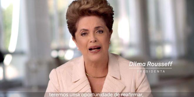 巴西聯邦眾議院以2/3的多數決,通過了針對總統羅賽芙的彈劾案!(翻攝網路)
