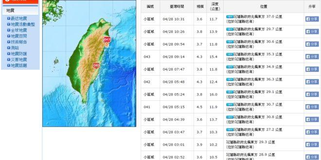 圖片來源/中央氣象局
