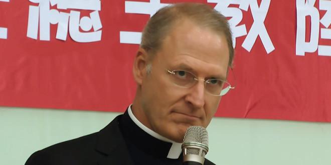 擔任教廷駐台大使的陸蒙席即將離任,30日表達離開台灣前的3項遺憾。  圖片來源:影片截圖
