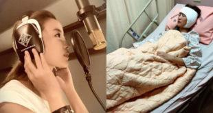 黃美珍左耳聽力受損,幾乎聽不到,最近動手術盼挽回聽力!(合成照,圖片來源:黃美珍臉書)