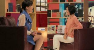 蔣雅淇(右)日前上「TVBS看板人物」,接受主持人方念華專訪。(合成照,圖片來源:TVBS看板人物)