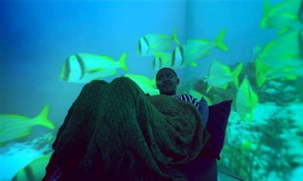 另一位參與探險之旅計劃的病童-哈拿,她最想嚐試的就是水肺潛水。(圖片來源:today.com)
