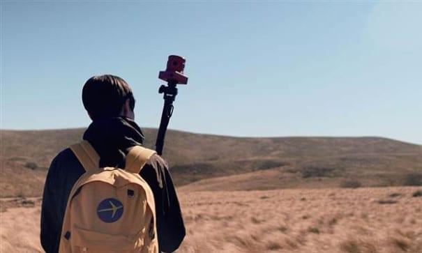 Expedia技科公司員工,帶著特殊相機到世界各地捕捉美景,再使用技術將影像合成。(圖片來源:today.com)
