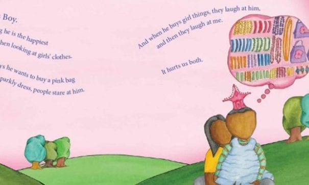 校方一度考慮把跨性別的知識納入教材,推廣繪本「我的公主男孩(My Princess Boy)」。(圖片摘自網路)