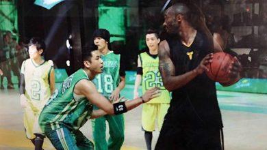Photo of Kobe生涯最後戰 黑人PO尬球照向「傳奇」致敬