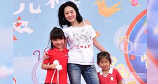 今年兒童節,兒盟舉辦兒盟園遊會,以「童趣時光機」為主題,特別邀請時尚俏媽咪小S陪現場小朋友一起同樂。(圖片來源:兒福聯盟)