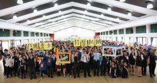 465位致用勇士體驗飢餓打擊飢餓,拯救危飢兒童。(圖片來源:台灣世界展望會)