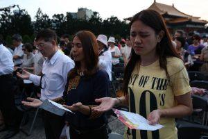 全台16個縣市和全球基督徒一起為自己的國家祝福禱告。