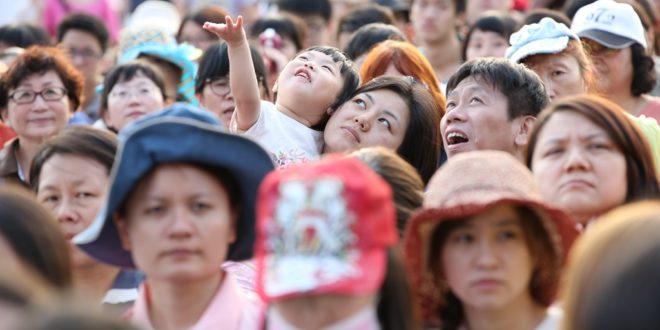 北北基數十所教會超過二萬四千人參加北台灣全國祝服禱告大會。(圖片來源/515全國禱告大會提供)