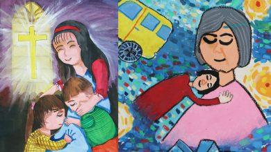 Photo of 失親兒小手畫出愛 療癒受傷心靈、分享愛的價值
