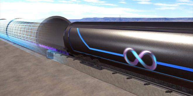 超級高鐵首次戶外測試結果令人驚豔。(圖片來源/Hyperloop Technologies)