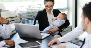 職場媽媽在現代社會比例甚高,要兼顧家庭與工作是職場媽媽的一大考驗。〈圖片來源:123RF〉