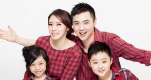 宋達民與洪百榕結婚12個年頭,育有一子一女。(圖片來源:宋達民和洪百榕愛的粉園臉書)