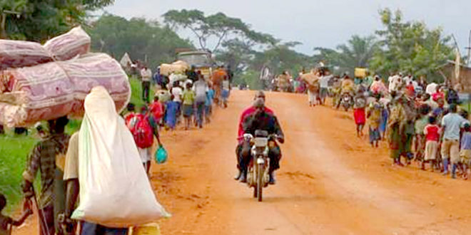 數千名剛果基督徒,連忙逃離家園,深怕自己成為「國際穆斯林防衛組織」 下一次攻擊的目標。(圖片來源/翻攝自worldwatchmonitor網站)