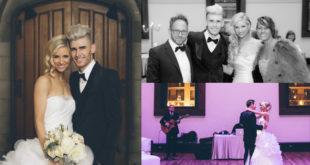 基督徒歌手柯頓狄克,於年初與相戀三年的女友,在美國田納西納許維爾(Nashville)的教堂完成終身大事。(圖片來源/翻攝自網路)