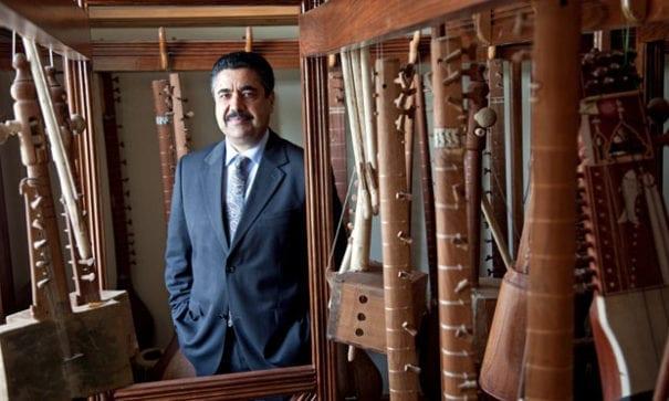 薩馬斯特素有阿富汗音樂教父之稱。(圖片摘自網路)
