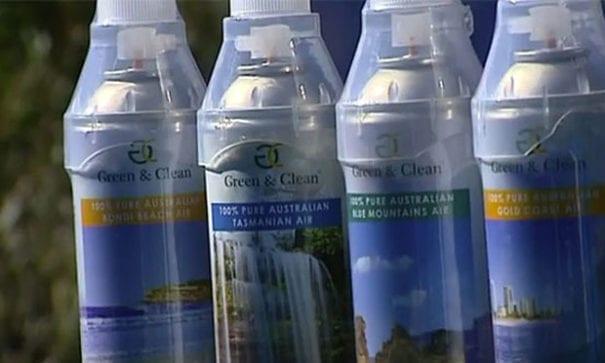 新清空氣公司的「新清空氣」產品,來自澳洲各地區及紐西蘭。(圖片來源:7News)