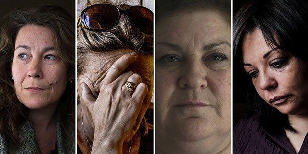 一群痛失愛兒的媽媽們,加入家庭反恐主義高峰會。(圖片摘自網路)