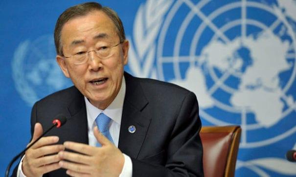 聯合國秘書長潘基文曾在2014年推行職員同性婚姻認可措施。(圖片來源:lainfo)