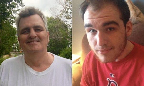 克里斯(右)說父親是他一生最好的朋友。(圖片來源:yahoo)