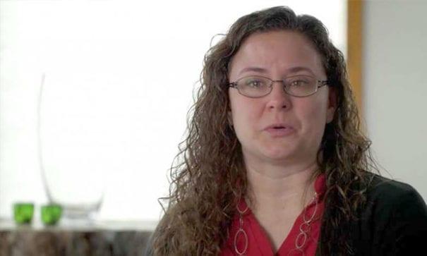珍妮,2個孩子的母親。她正積極推動「更衣室要安全」的活動。(圖片來源:dailysignal)