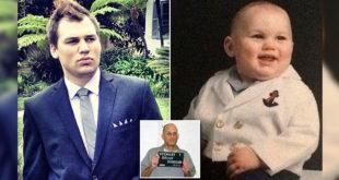 11月大的布萊恩被HIV病毒感染,現年25的他仍然活著,跌破醫學專家的眼鏡。中間小圖為布萊恩父親。(圖片摘自網路)
