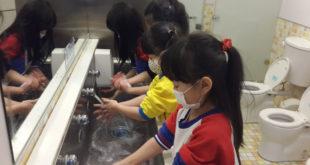 新北市衛生局呼籲,正確勤洗手可有效預防腸病毒。(圖片來源:新北巿衛生局)